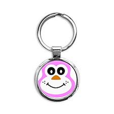 Sue - Button Round Keychain