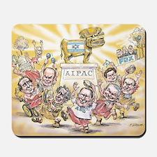 Golden Calf AIPAC Mousepad