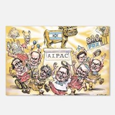 Golden Calf AIPAC Postcards (Package of 8)