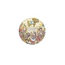 Golden Calf AIPAC Mini Button