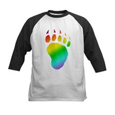 gay pride bear paw Tee