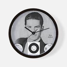 Gene Jenkins 1960s Rockabilly Fan Merch Wall Clock