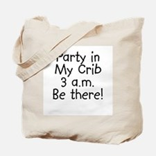 Crib Party Tote Bag