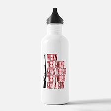 get a gun Water Bottle