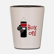 Box On! Shot Glass