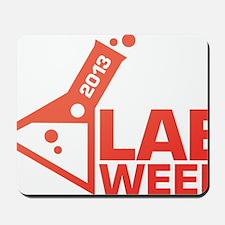 LabWeek 2013 SXS Red Mousepad