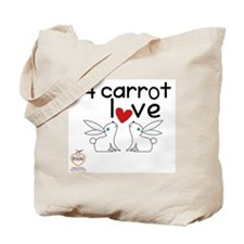 24 carrot love Tote Bag
