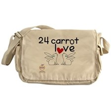 24 carrot love Messenger Bag