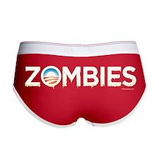 Obama Zombies Women's Boy Brief