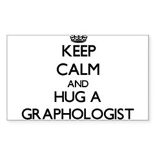 Keep Calm and Hug a Graphologist Decal