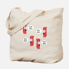 Eat Me Bacon Tote Bag
