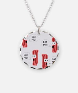 Eat Me Bacon Necklace