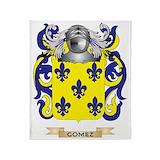 Gomez family crest Blankets
