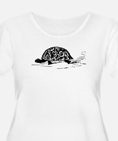 Tortoise Drawing Plus Size T-Shirt