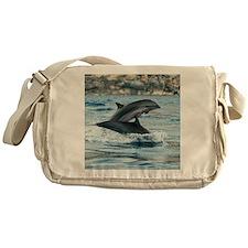 Fraser's dolphins Messenger Bag