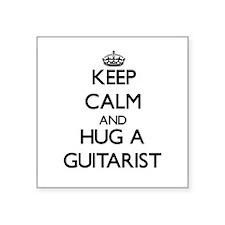 Keep Calm and Hug a Guitarist Sticker