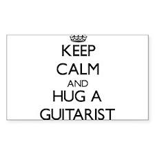 Keep Calm and Hug a Guitarist Decal