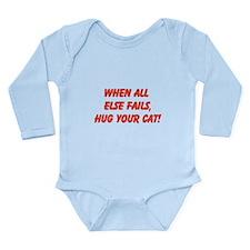 when all else fails - cat Body Suit