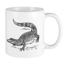 Crocodile Sketch Mugs