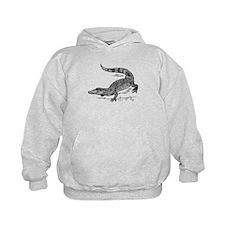 Crocodile Sketch Hoodie