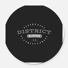 District 11 Round Car Magnet