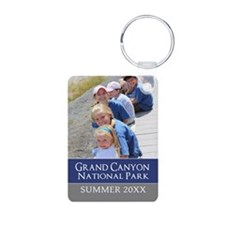 Vacation Souvenir Photo Keychains