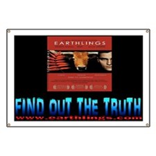 earthlings truthwith addy6x4 Banner