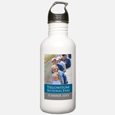 Vacation Souvenir Photo Water Bottle