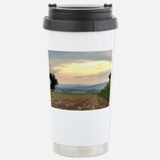 Fog rolling out over the Shawan Travel Mug