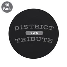 """District 2 Tribute 3.5"""" Button (10 pack)"""