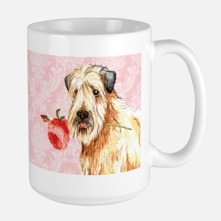 Wheaten Rose Large Mug