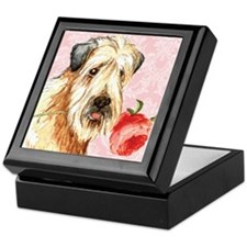 Wheaten Rose Keepsake Box