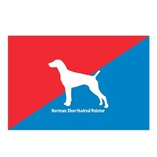 Pointer Diagonal Postcards (Package of 8)
