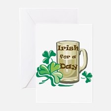 Irish For A Day Greeting Cards (Pk of 10)