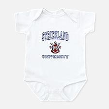 STRICKLAND University Infant Bodysuit