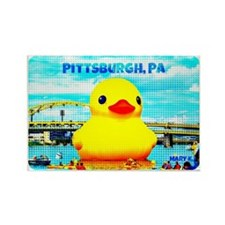 Pittsburgh, PA Duck Rectangle Magnet