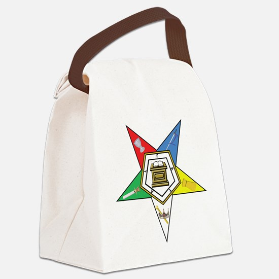 OES Star Canvas Lunch Bag