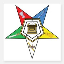 """OES Star Square Car Magnet 3"""" x 3"""""""