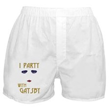 Party With Gatsby Boxer Shorts