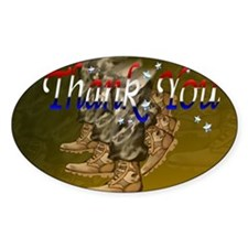 Thank You Veterans-Yardsign Decal