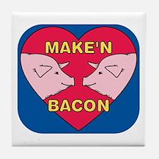 Make 'N Bacon Tile Coaster