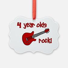 4yearoldsrock_redguitar Ornament