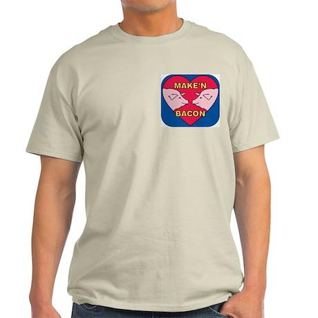 Make 'N Bacon Ash Grey T-Shirt