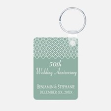 Wedding Anniversary Mint Keychains