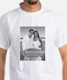 Wedding Photo Gray T-Shirt