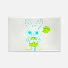 cute bunny Magnets