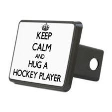 Keep Calm and Hug a Hockey Player Hitch Cover