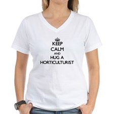 Keep Calm and Hug a Horticulturist T-Shirt