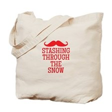 STASHING thru the snow Tote Bag