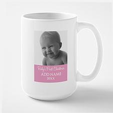 Add Photo Pink Mugs